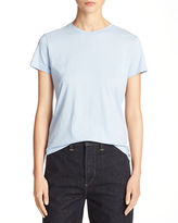Vince Luxe Cotton Jersey Boy Tee