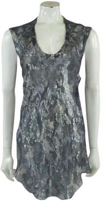 Isabel Marant Silver Silk Tops
