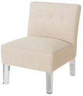 Skyline Furniture Armless Chair with Buttons