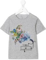 Stella McCartney printed T-shirt - kids - Cotton - 6 yrs