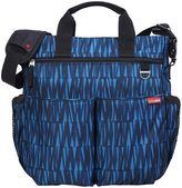 Skip Hop Duo Signature Diaper Bag - Blue Graffiti