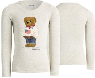 Ralph Lauren Girl's Long Sleeve T-Shirt