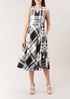 Hobbs Esther Linen Blend Dress