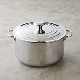 Le Creuset Stainless-Steel Deep Casserole with Lid