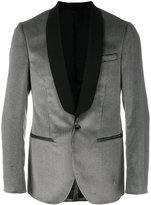 Mauro Grifoni houndstooth tuxedo blazer