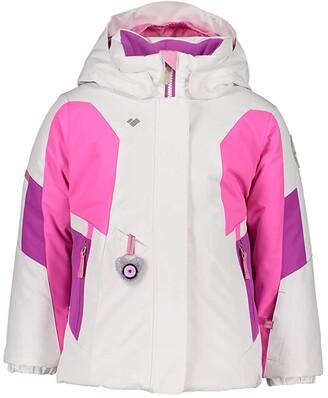 Obermeyer Harper Jacket (Toddler/Little Kids/Big Kids) (White) Girl's Jacket