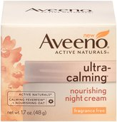 Aveeno Ultra-Calming Nourishing Night Cream - 1.7 oz