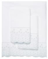 Belle Epoque Padua Cotton Lace Trellis Sheet Set