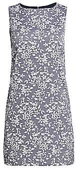 Alice + Olivia Women's Clyde Floral Shift Dress