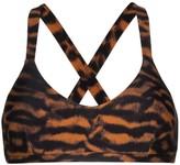 The Upside Sophie tiger-print sports bra
