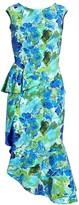 Chiara Boni Dilone Floral Ruffle Dress