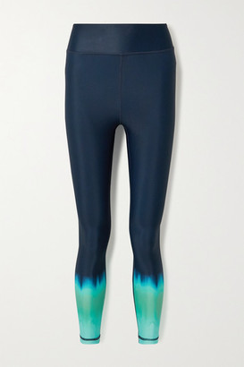 The Upside Paradise Degrade Stretch Leggings - Storm blue