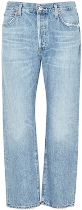 Citizens of Humanity Emery Light Blue Straight-leg Jeans