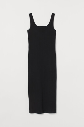 H&M Calf-length bodycon dress