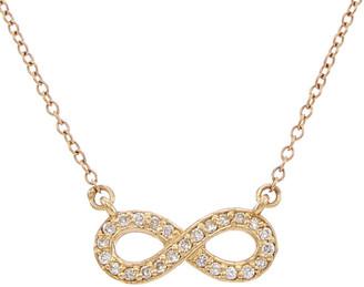 Ariana Rabbani Ariana Rabanni 14K 0.15 Ct. Tw. Diamond Infinity Necklace
