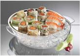 Prodyne 2Pc 10.5In Food Platter & Ice Tray Set