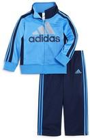 adidas Boys' Tricot Warm-Up Jacket & Pants Set - Sizes 2T-3T