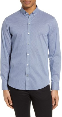 Zachary Prell Noori Classic Fit Button-Down Shirt