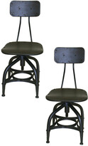 Pangea Rustique By  Set Of 2 Harvey Dining Chair