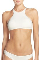 Dolce Vita Women's High Neck Bikini Top