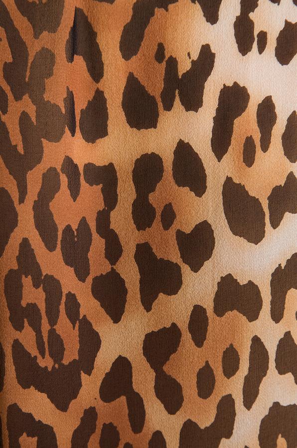 Equipment Lynn Contrast Magic Leopard Blouse