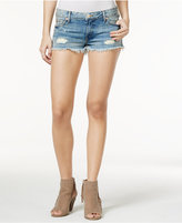 True Religion Joey Cutoff Medium Blue Wash Denim Shorts