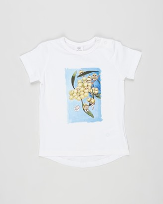 Walnut Melbourne May Gibbs Frankie Placement Tee - Babies-Kids