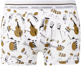 Dolce & Gabbana instruments print boxers - men - Cotton - 4