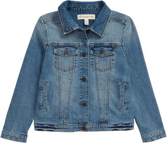 Tucker + Tate Distressed Denim Boyfriend Jacket