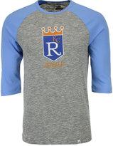 Majestic Men's Kansas City Royals Coop Grueling Raglan T-shirt