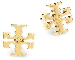 Tory Burch T-Logo Goldtone Stud Earrings