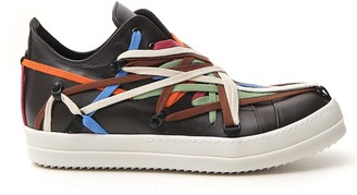 Rick Owens Multicoloured Lace Sneakers