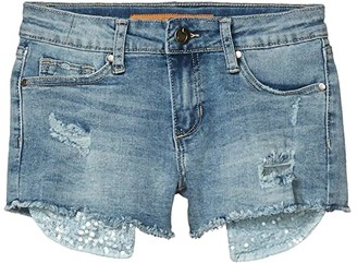 Joe's Jeans The Jane Shorts (Little Kids/Big Kids) (Blue Light) Girl's Shorts