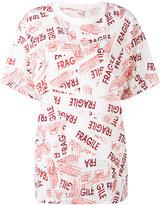 MM6 MAISON MARGIELA Fragile T-shirt - women - Cotton - XS
