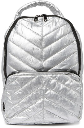 Urban Expressions High Shine Quilted Puffer Backpack