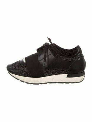 Balenciaga Race Runner Athletic Sneakers Black