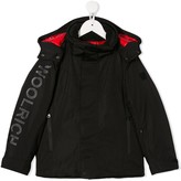 Woolrich Kids hooded shell coat