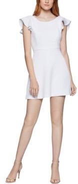 BCBGeneration Ruffled-Back Mini Dress