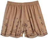 Speechless Girls 7-16 Faux Suede Shortie Shorts