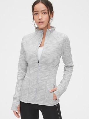 Gap GapFit Orbit Fleece Full-Zip Mockneck Jacket