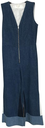 Maje Blue Denim - Jeans Jumpsuit for Women