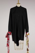 J.W.Anderson J W Anderson Cotton shirt with Filigree prints sleeves
