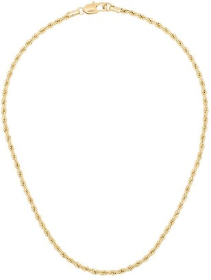 Laura Lombardi 14kt Gold Vermeil Rope Chain Necklace