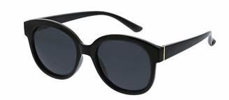 Peepers by PeeperSpecs Women's Catalina Polarized Oversized Sunglasses