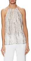 Ramy Brook Printed Pernile Sleeveless Top