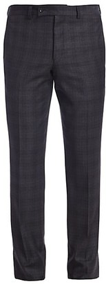 Saks Fifth Avenue MODERN Windowpane Check Suit Trousers