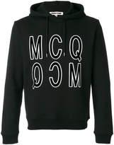 McQ print hoodie