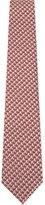 Lanvin Pdp Pattern Silk Tie