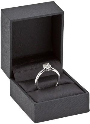 Love Diamond 9ct Gold 50 Point Diamond Solitaire Ring