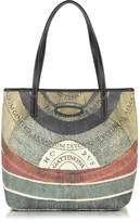 Gattinoni Planetarium Small Square Open Top Tote Bag